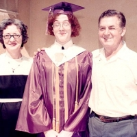 Mary, Nick and the graduate